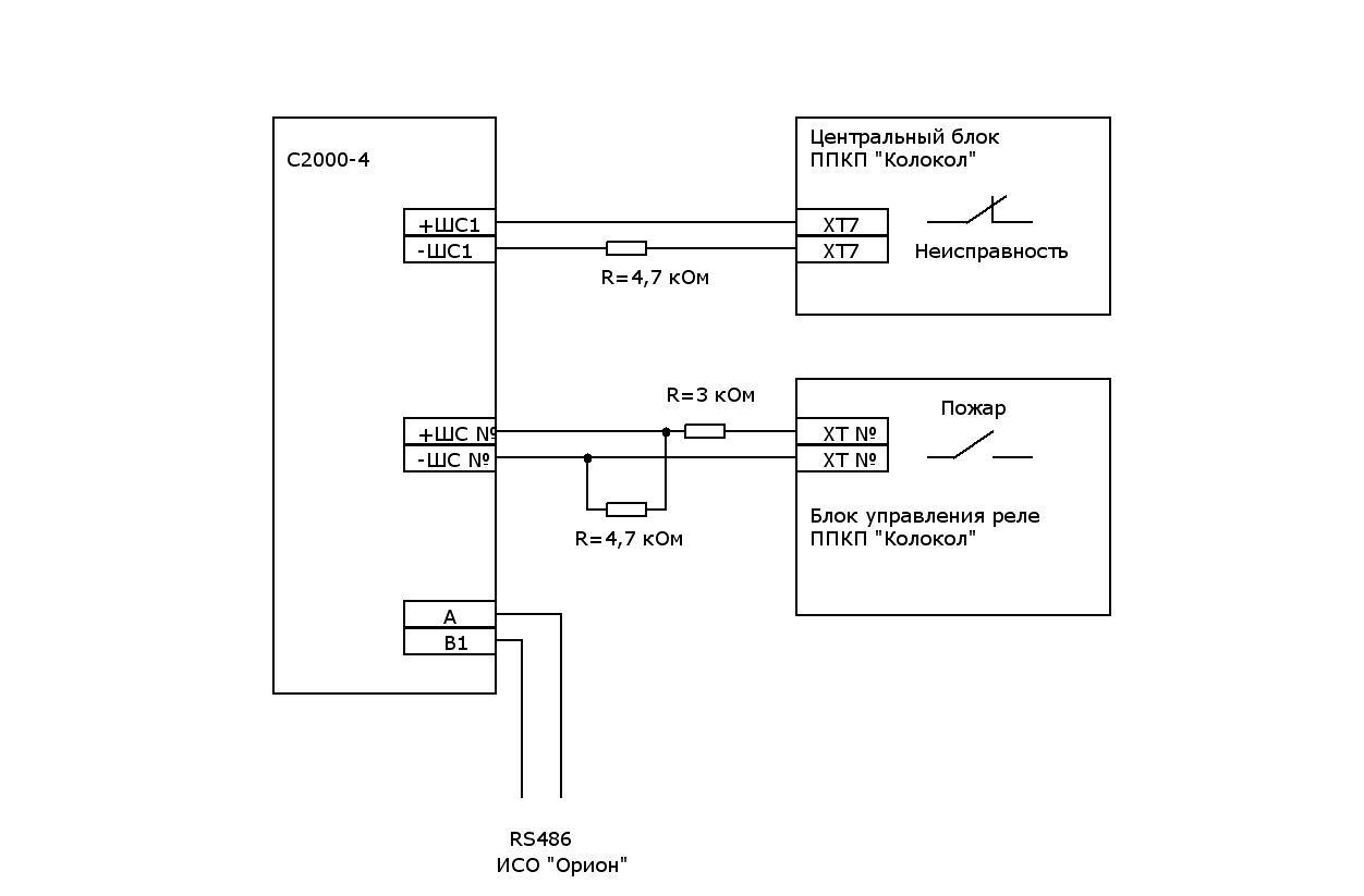 схема подключения 7812